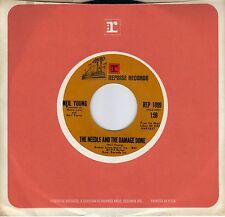NEIL YOUNG The Needle And The Damage Done / War Song  rare original 45 from 1972