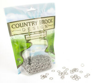 10-Country-Brook-Design-1-4-Inch-Split-Ring-Key-Chain-Rings