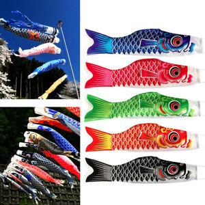 55cm-Japanese-Nobori-Koinobori-Carp-Streamer-Windsock-Fish-Flag-Kite-Hanging-Set