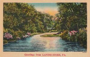 Postcard-Greetings-from-Landis-Store-PA