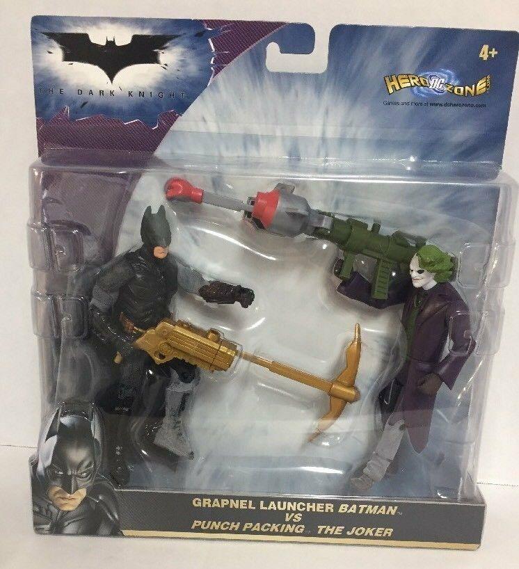 DC Caballero Oscuro Batman Lanzador De Lujo rezón vs Punch embalaje el Guasón