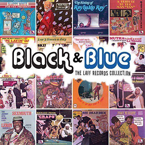 BLACK & BLUE- Laff Records Collection 4-CDs ft. Redd Foxx, LaWanda Page