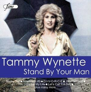 TAMMY-WYNETTE-STAND-BY-YOUR-MAN-music-CD-12-songs-NEW