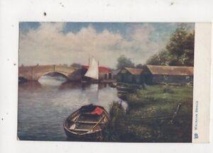 Wroxham Bridge Norfolk Tuck Oilette Postcard 641a - Aberystwyth, United Kingdom - Wroxham Bridge Norfolk Tuck Oilette Postcard 641a - Aberystwyth, United Kingdom