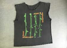 Vintage TYPE O NEGATIVE October Rust RARE Shirt Blue Grape 1996 90s Sleeveless