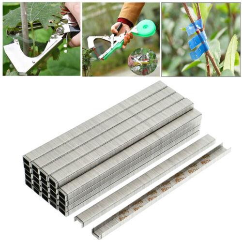 Qu/_ 10000Pcs Garden Plant Branch Tapetool Binding Tying Machine Tapener Staples