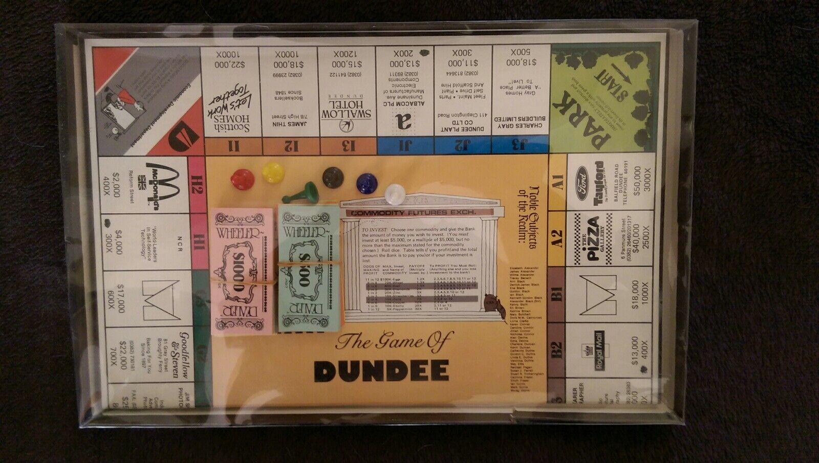 Wheeler Dealer The Game Of Dundee