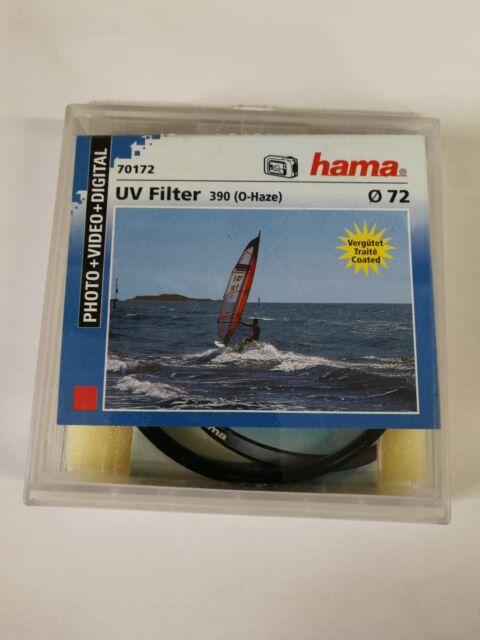 Hama UV Filter UV-390 (O-Haze) - filtre - filtre ultraviolet - 72 mm
