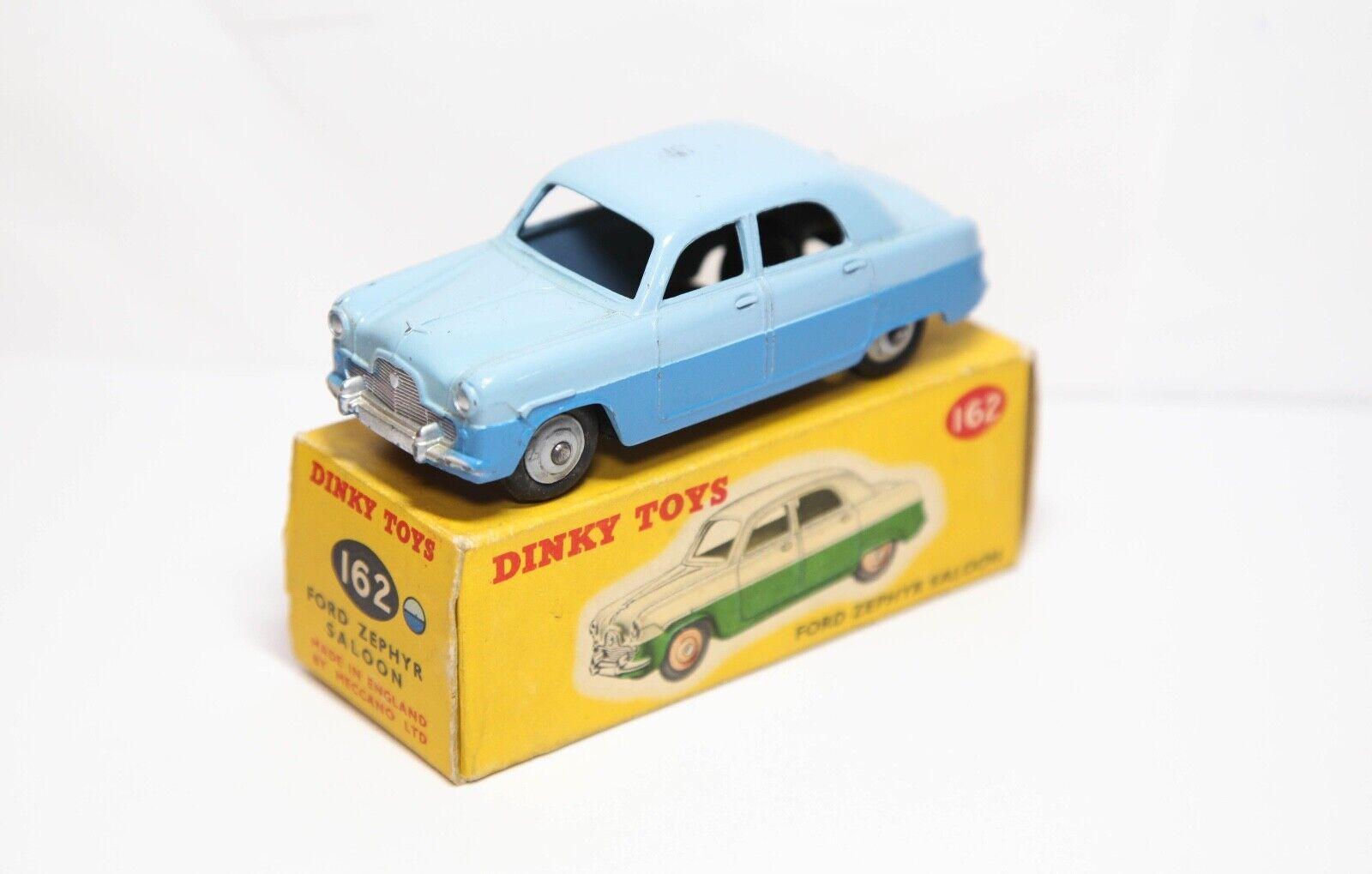 Dinky 162 Ford Zephyr Saloon In Its Original Box - Near Mint Vintage Original