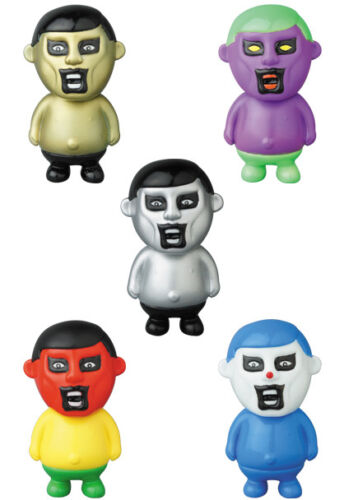 MEDICOM VAG Series 14 Punk Drunkers VINYL ARTIST GACHA Full set of 5 pcs