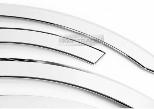 Chrome Wheel Fender Lip Cover Guard Molding Trim 8Pcs For KIA 2006-2014 Sedona