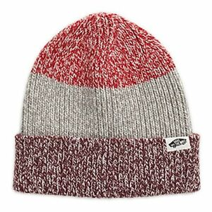2624ce770dc Image is loading Vans-TWILLY-Striped-Beanie-NEW-Knit-Cuff-Beanie-