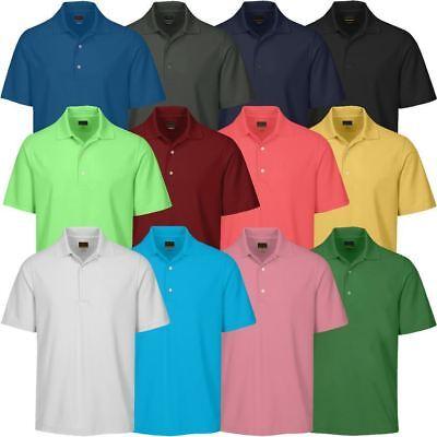 Bello Greg Norman 2019 Kx04 Performance Play Dry Micro Core Maglietta Polo In Piqué Golf-mostra Il Titolo Originale