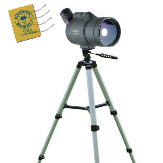 Visionking 25-75x70 Waterproof Spotting Scope Hunting Bird Watching High tripod