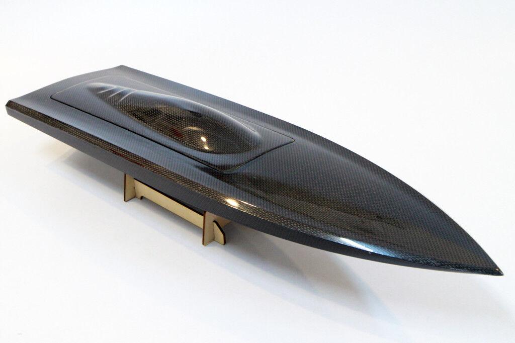 650mm (26-1   2  ), kohlefaser - mono - tiefe v - rc - Stiefel