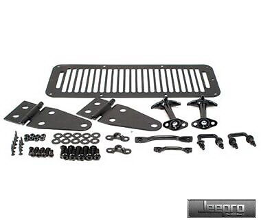 SmittyBilt 7699 78-95 YJ Wrangler & CJ Black Complete Hood Kit - Brand New!