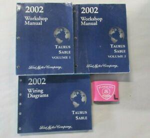 2002 FORD TAURUS MERCURY SABLE SERVICE SHOP REPAIR MANUAL ...