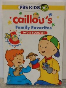 Caillou - Caillous Family Favorites (DVD, 2014, With Book ... Caillou Family Collection Dvd Ebay