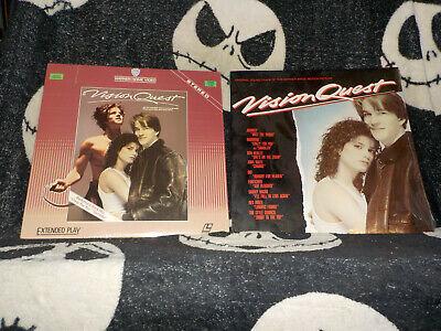 Analytisch Vision Quest Laserdisc Ld + Vinyl Lp Neu Originalverpackt Soundtrack Madonna Komplette Artikelauswahl