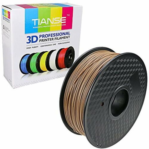 Dimensional Accuracy // Wood 3D Printer Filament 1.75mm 1KG Spool Printing