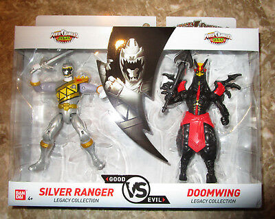 power rangers legacy collection figure 2 pack dino super charge silver doomwing ebay power rangers legacy collection figure 2 pack dino super charge silver doomwing ebay