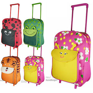 Kids Wheel Bag Trolley Cabin Suitcase Travel Case Boys Girls ...