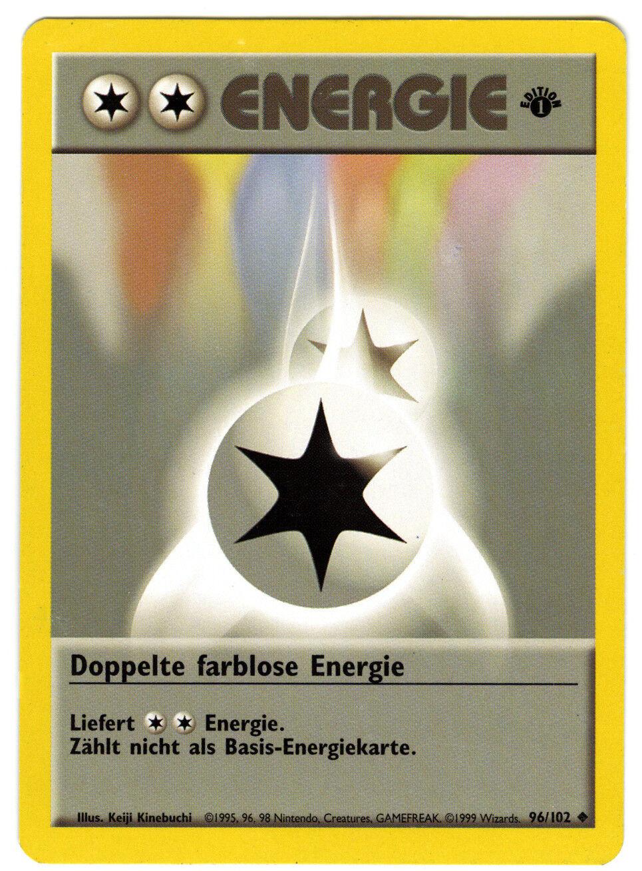 Pokémon Card, energy, Pokémon 96 102,