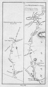 1778 Ireland Westport Mayo Headford Tuam Galway Castlebar Etc