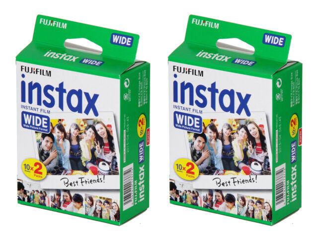 Pellicola Istantanea FujiFilm Instax Mini Comp Polaroid//Diana 10 foto