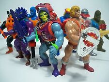 K1750181 SERIES 4 THUNDER-PUNCH HEMAN SET OF 8 LOOSE FIGURES 100% COMPLETE MOTU