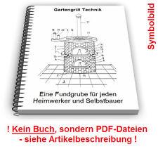 Gartengrill Grill selbst bauen - Grillen Technik Entwicklungen Patente