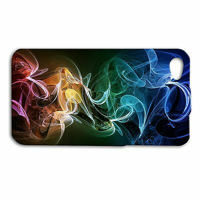 Beautiful Custom Phone Case Cool Colorful Smoke Cover iPhone 4 4s 5 5s 5c 6 6s +