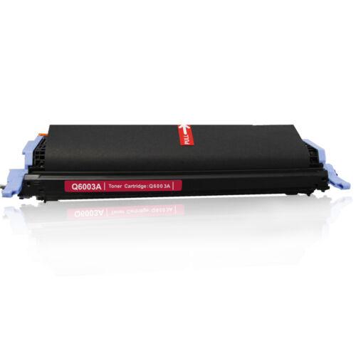 4 Pack Q6000A 123A Toner Combo Set For HP LaserJet 124A 2600n 2605 2605dnt 1600