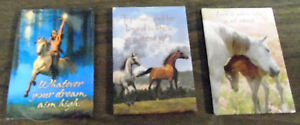 New Leanin' Tree Magnets Set of 3 Horse Theme Herman Adams Kim McElroy Art NR