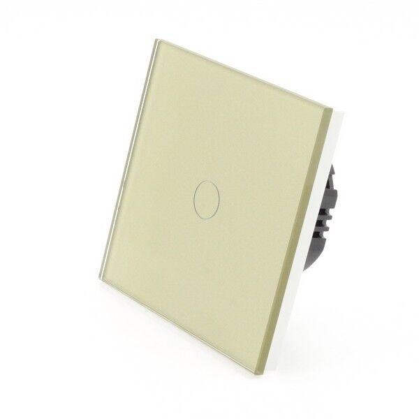 I LumoS LumoS LumoS Elegante oro Pannello di Vetro Touch WiFi 4 G telecomando dimmer LED luce gli interruttori a153d2