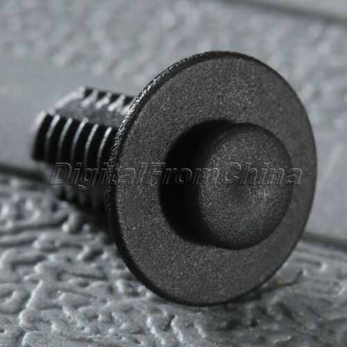 50X Screw Fastener Car Door Trim Bumper Retainers Push Type Clips Rivets for