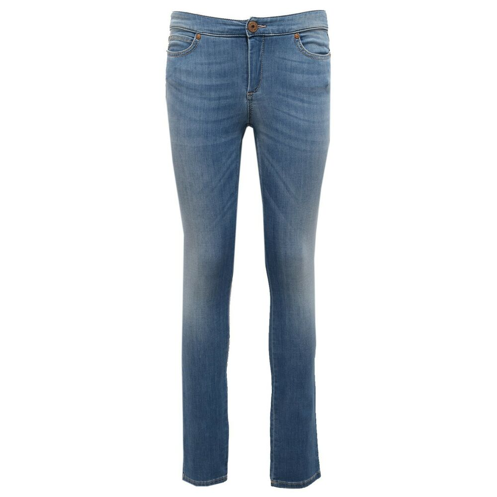 1790ab Leggings Donna Weekend Maxmara Skinny Denim Jeans Woman