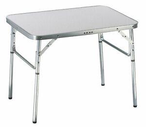Aluminium Table Pliante De Camping 75x55x60cm Valise Portable Neuf