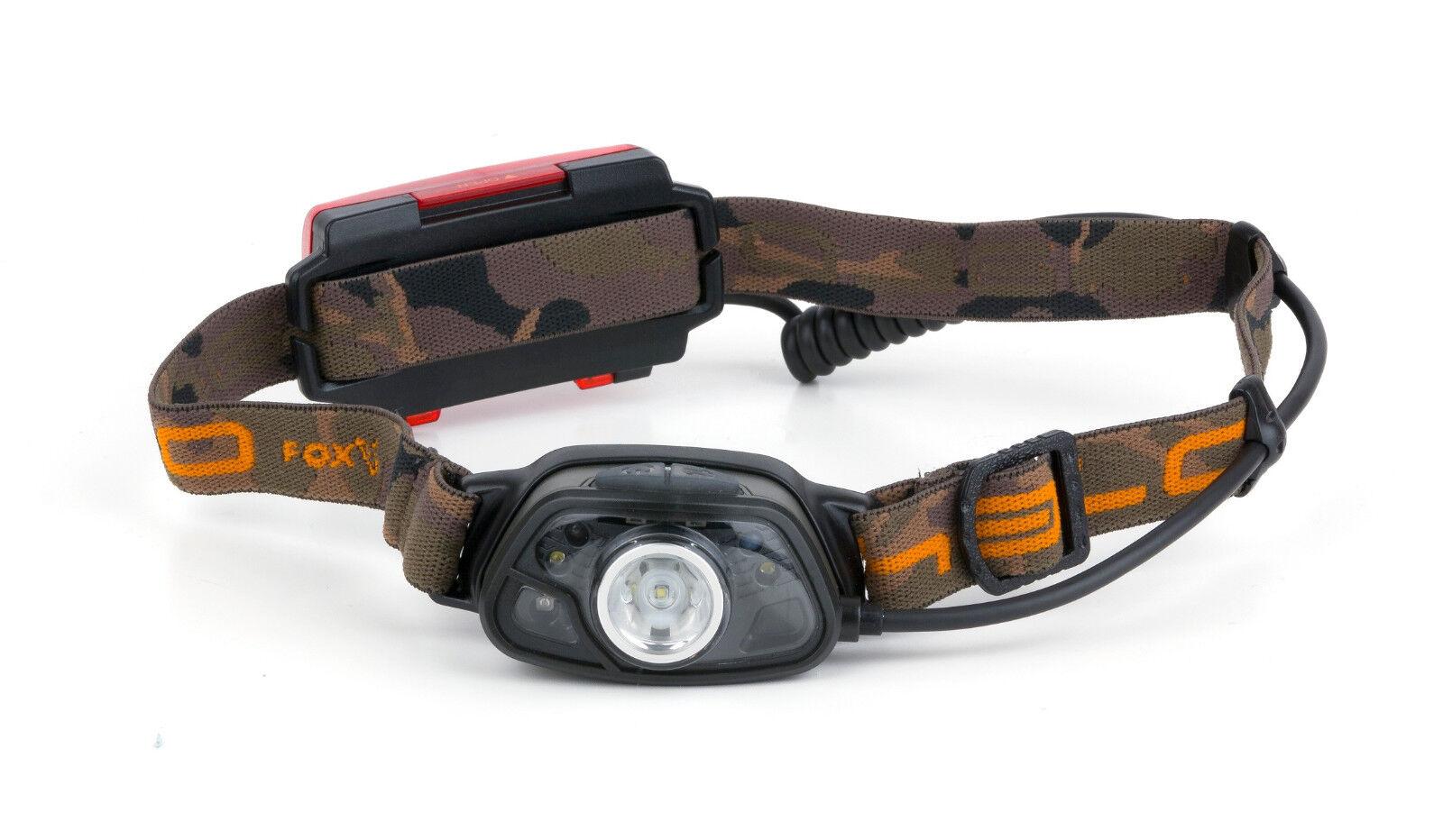 Fox Halo MS 250 Headtorch CEI162 Kopflampe Lampe Lamp Head Torch Angellampe