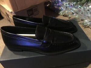 LA Ross Ladies Leather Slip On Shoes UK