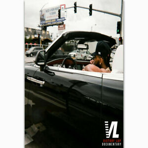 "Victory Lap Nipsey Hussle Music Album Art Cover Poster 12x12/"" 24x24/"" 32x32/"""
