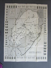 Illustrated Mail Transvaal War Game Map Circa 1900 super rare
