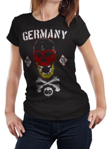 HANDBALL SKULL T-Shirt World Cup Deutschland Germany WM 2019 Weltmeisterschaft