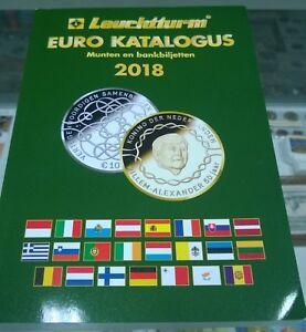 Euro-catalogus-munten-en-bankbiljetten-2018-Leuchtturm-uitgifte-december-2017