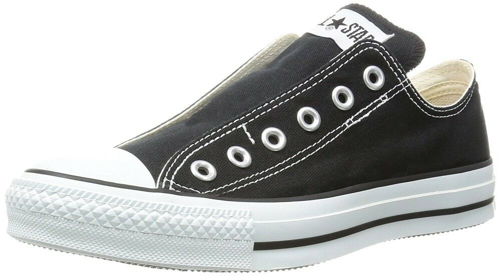 Converse All Star Glissant III Ox à Enfiler paniers Homme Chaussures Noires