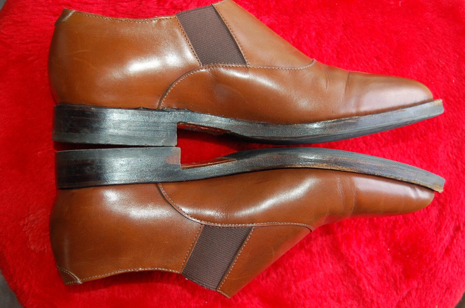 Zapatos casuales salvajes Descuento por tiempo limitado ZAPATOS HARDRIGE PARÍS CUERO MUJER - MARRÓN CLARO - 25,3 CM DE LARGO Y