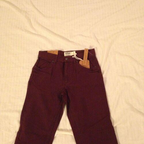 Boy/'s Slim//Straight Adj Waist Pants Burgundy Urban Pipeline Reg /& Husky