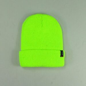 5a3d3cbbe6a Brixton Heist Hat Beanie Brand New in One Size in Electric Green