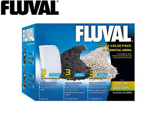 NEW-FLUVAL-MEDIA-VALUE-PACK-FOR-104-105-106-107-204-205-206-207-FILTERS-A1142