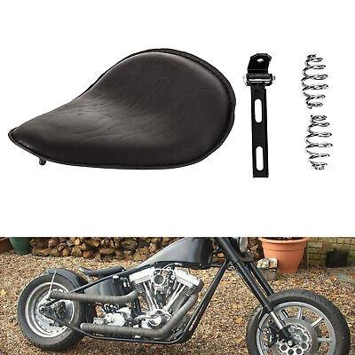 "Motorcycle 3/"" Spring Solo Bracket Seat For Harley Sportster //Iron Chopper Bobber"